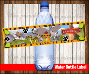 Water Bottle Label 3