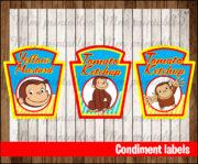 Condiment labels 3