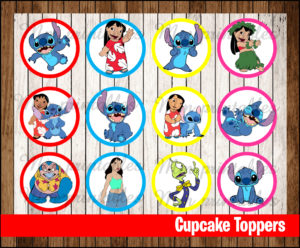 80 Off Sale Lilo And Stitch Thank You Tags Instant