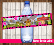 Water Bottle Label 3