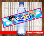 Water Bottle Label 4
