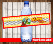 Water Bottle Label 4
