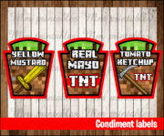 Condiment labels 3