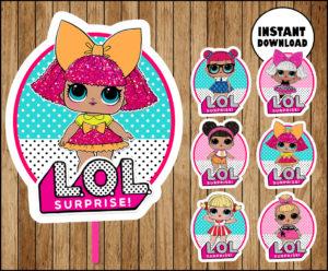 Lol Surprise Dolls Center Archives Printable