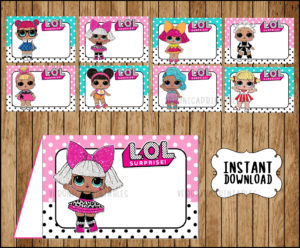 Lol Surprise Dolls party decor Archives - Page 2 of 3