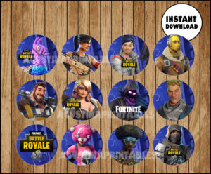 Fortnite Toppers Archives - Printable